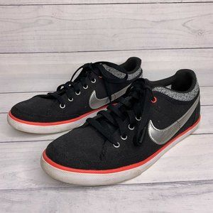 Nike Capri III Canvas Black & Pink Sneakers